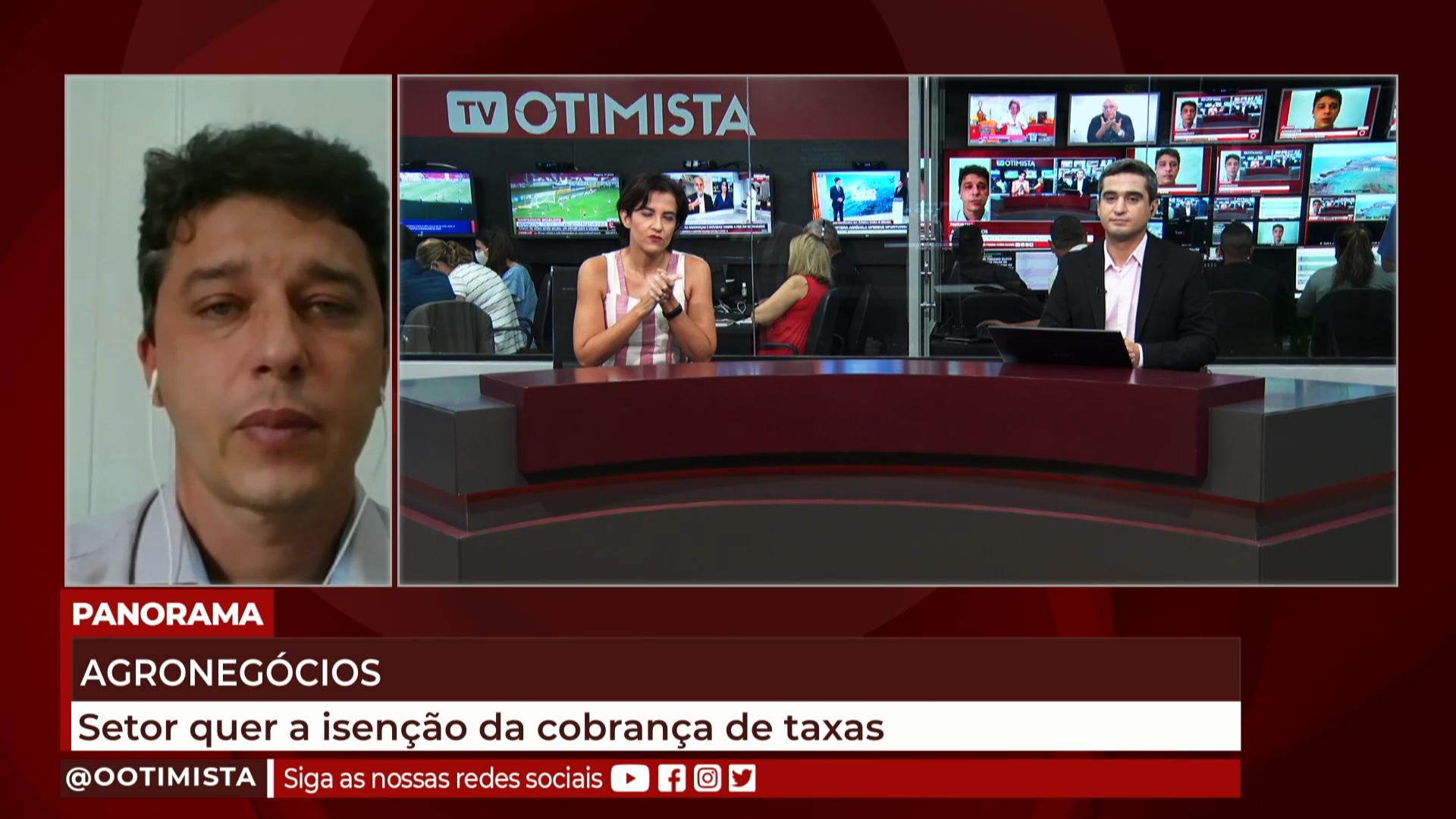 André Siqueira, Pres. do Sindialimento, fala sobre pedido de isenção na cobranças de taxas