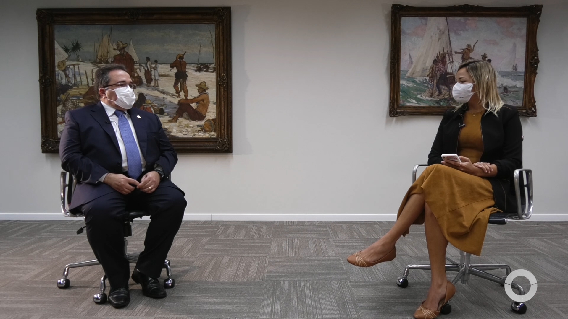Paginas vermelhas entrevista Romildo Rolim, Pres. do branco BNB – 08/03/2021