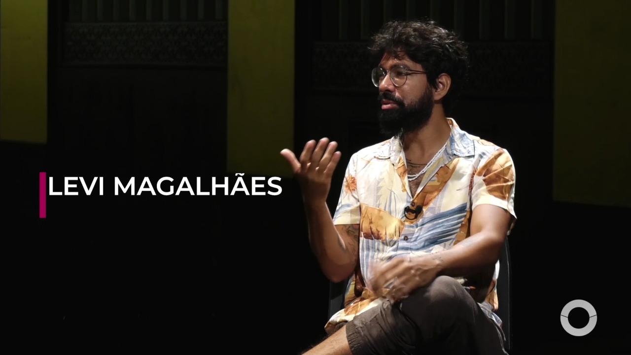 Primeiro plano entrevista Levi Magalhães