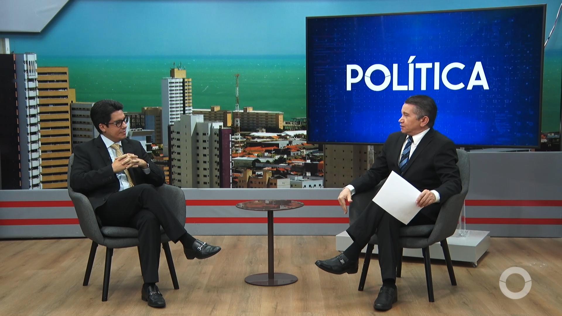 Política entrevista Andrei Aguiar, Advogado
