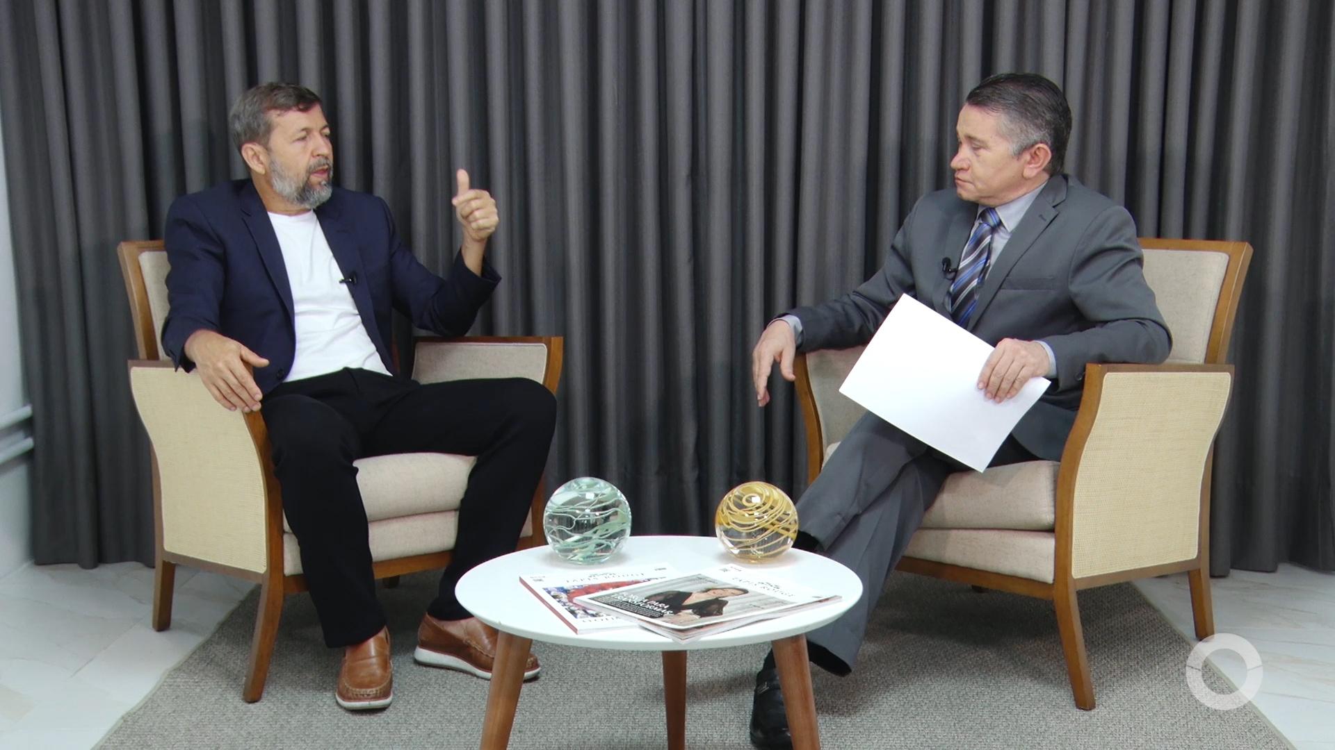 Política entrevista Élcio Batista, Vice-Prefeito de Fortaleza