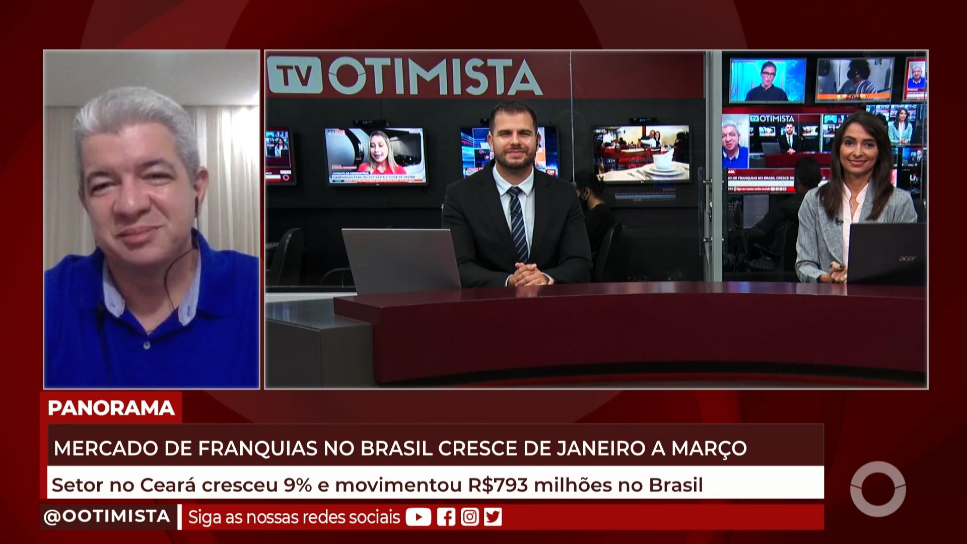 Mercado de franquias no Brasil cresce de Janeiro e Março de 2021