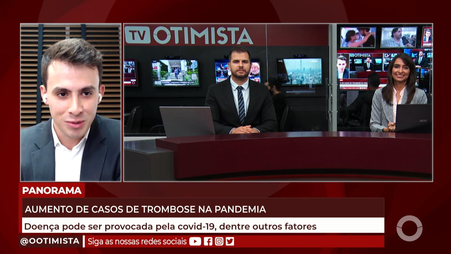 Aumento de casos de trombose na pandemia, doença pode ser provocada pela COVID-19