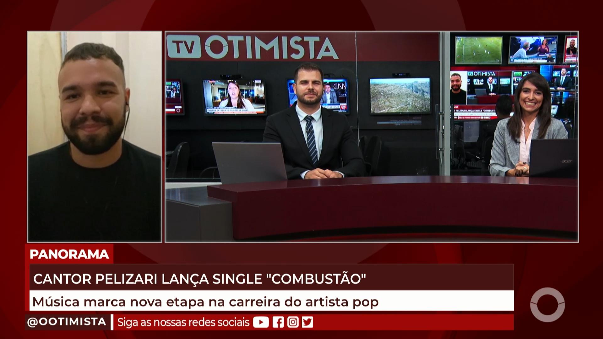"Cantor Pelizari lança single ""Combustão"""