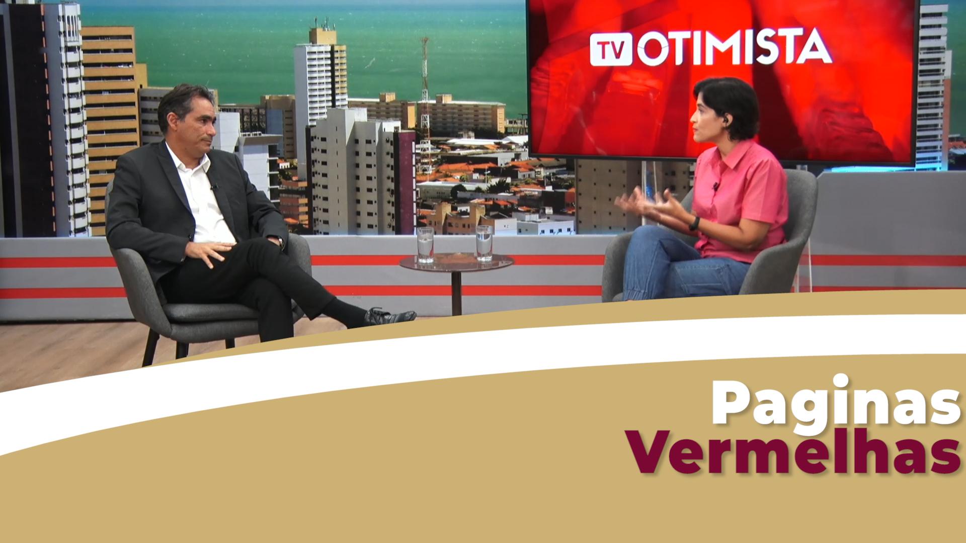 Paginas Vermelhas entrevista Marcos Aragão, Dir. executivo da Sicredi Ceará