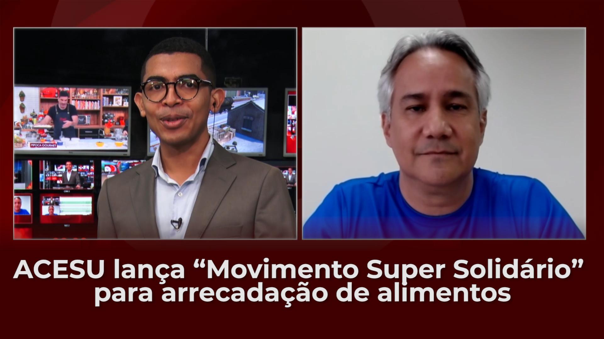 """Associação Cearense de Supermercados lança """"Movimento Super Solidário"""" para arrecadação de alimentos"""