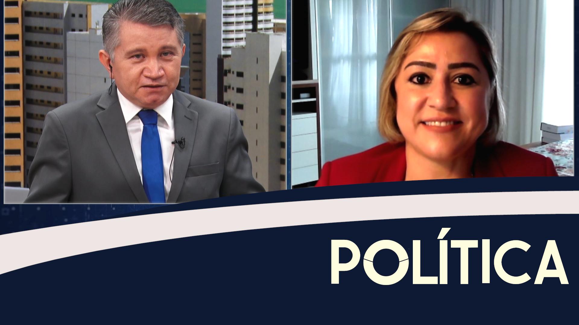 Política entrevista, Andrea Coelho, Pres. da ADPEC