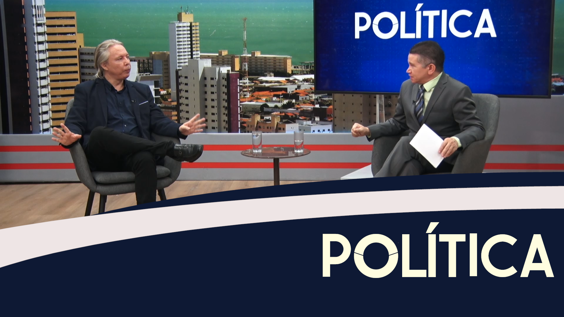 Política entrevista, Luiz Claudio, consultor político