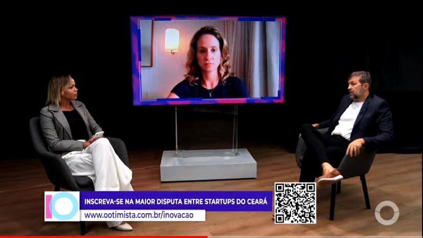 Élcio Batista e Carla Pontes falam sobre a inovação nos setores público e privado