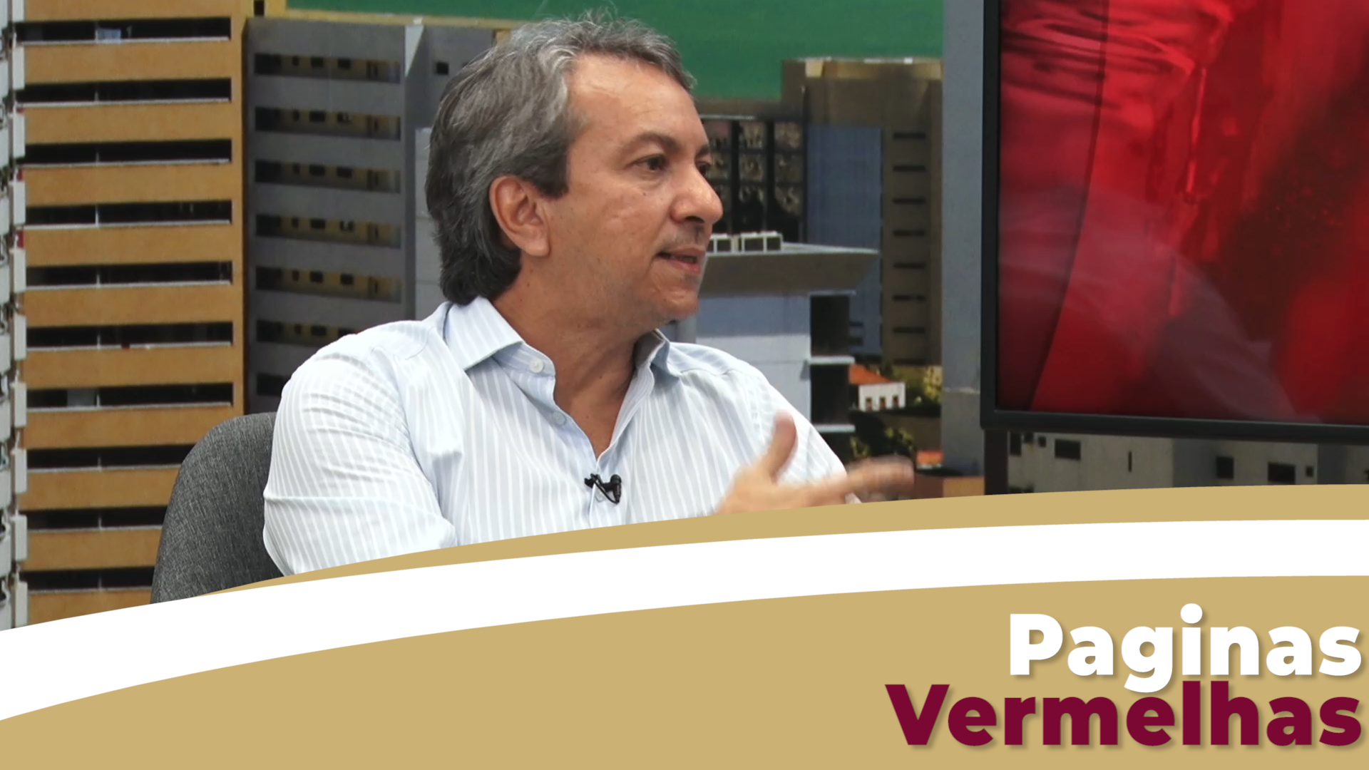 Paginas Vermelhas entrevista, Tulius Freitas, Médico Ginecologista