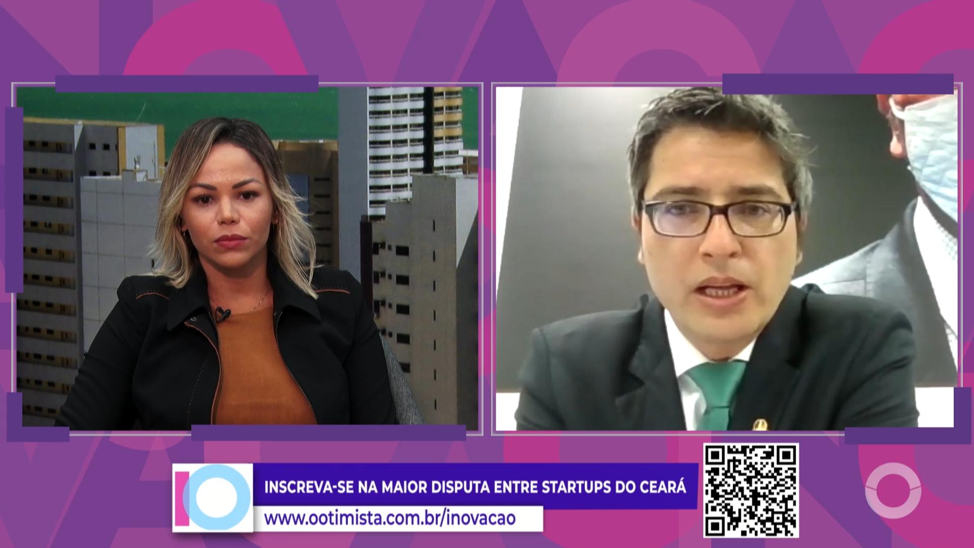 Prêmio Otimista de Inovação – Marco legal das startups com Carlos portinho, Senador PL-RJ