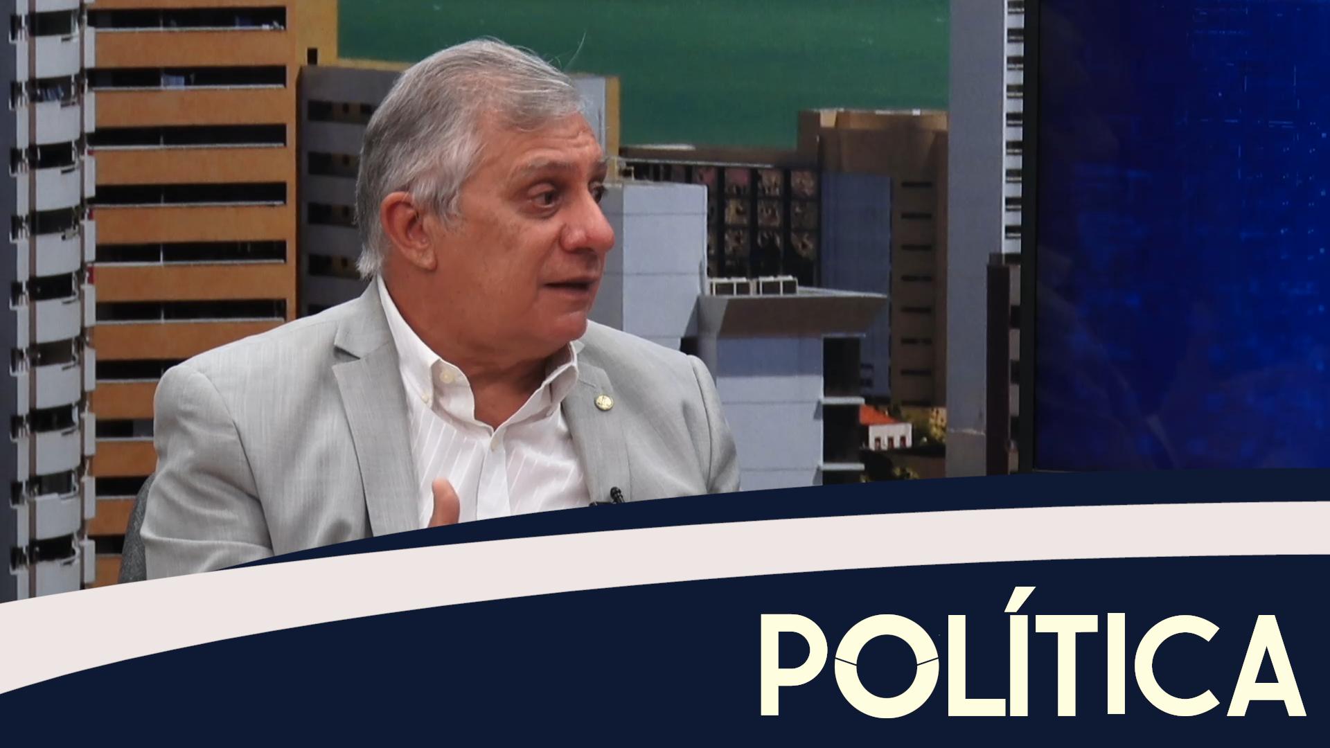 Política entrevista, José Airton, Dep. Federal (PT-CE)