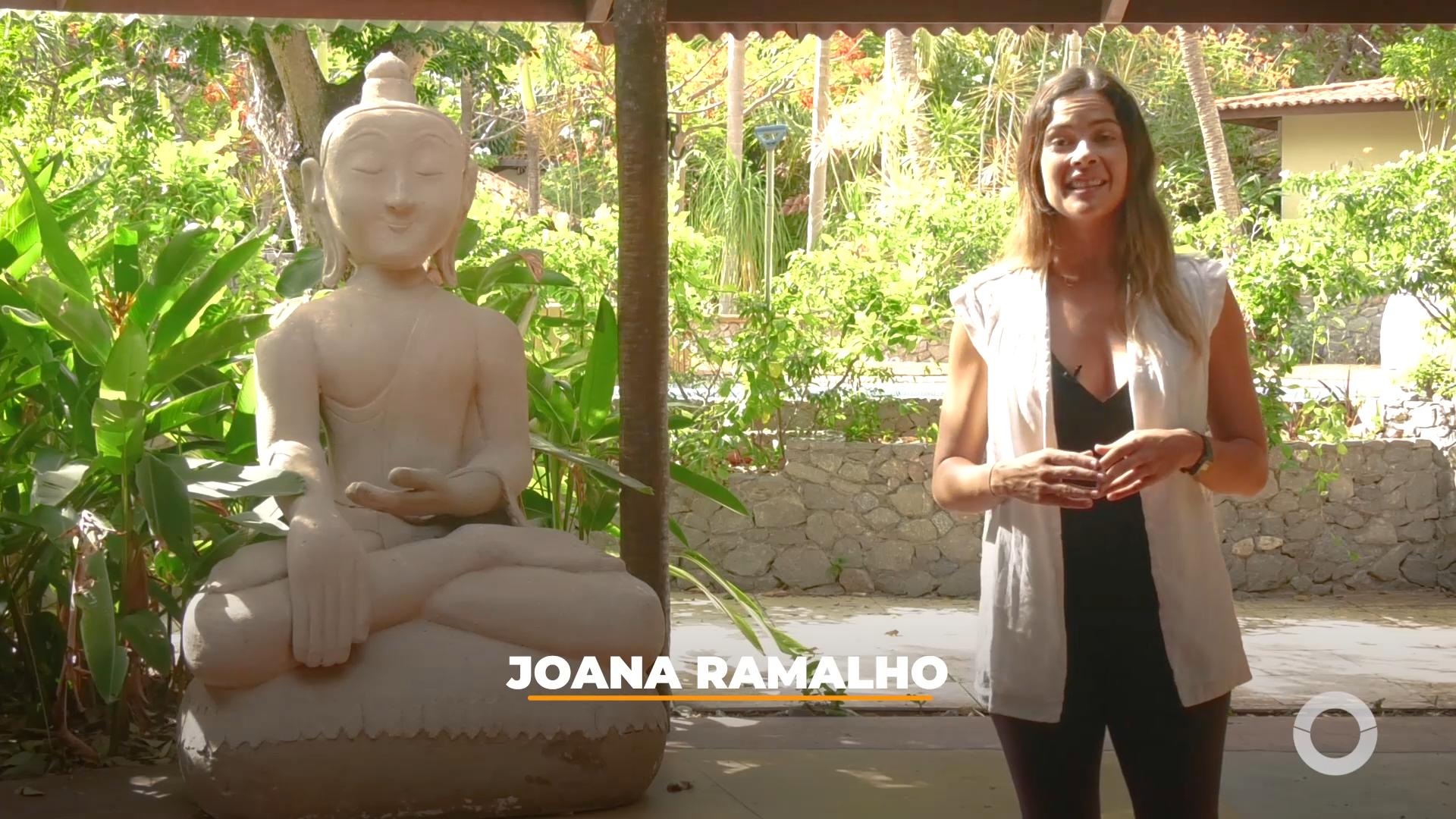 Costume Saudável – Joana Ramalho experimenta meditação no Osheanic em Aquiraz