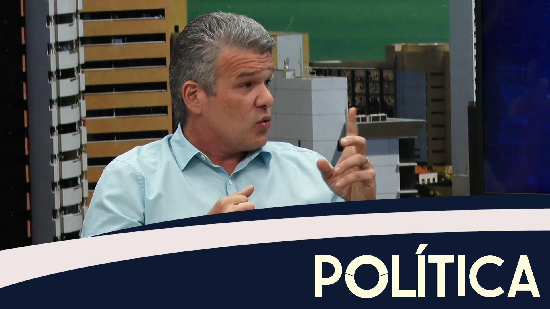 Política entrevista, Ferruccio Feitosa, Secretário Municipal