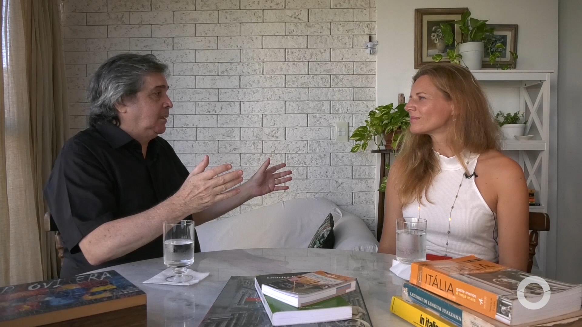 Mosaico entrevista professora e Italianista Angela Fossaluzza