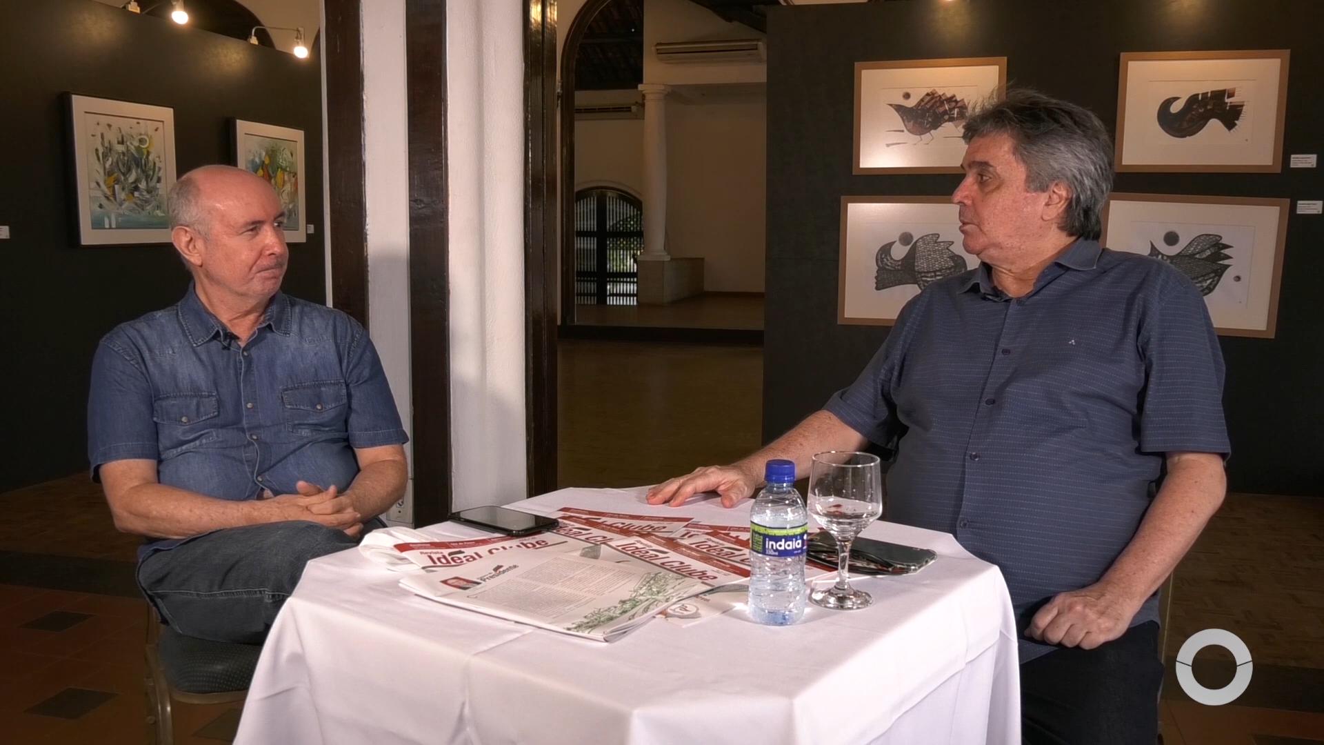 Mosaico entrevista Pres. do Ideal Club Amarílio Cavalcante